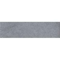 Plinthe carrelage sol intérieur grès émaillé Béton - teinte Chiara gris mat - 8x30 cm